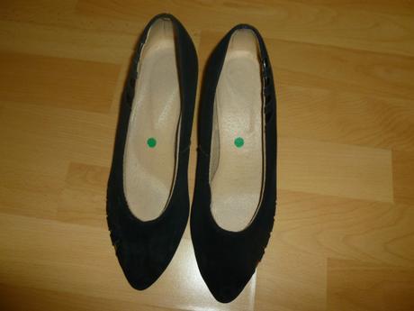 Čierne semišové topánky, 38