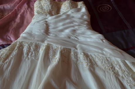svatební šaty - 38-44 + dárek, 40