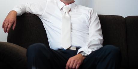Kosela OLYMP s DR na manzety s kravatou, 42