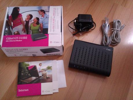 Glitel GT-318RI DSL Ethernet Modem,