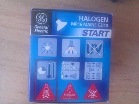 Halogenove bodove ziarovky 3kusy,