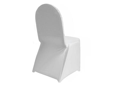 Na prenájom svadobné návleky na stoličky-elastické,