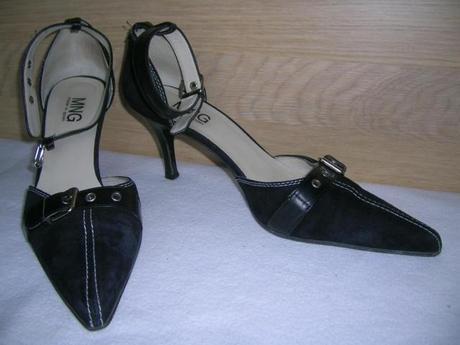 Kožené sandále Mango, 40