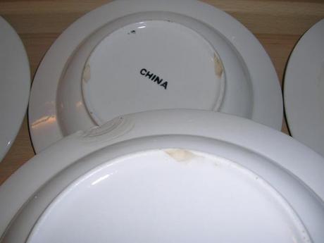 Používané taniere IKEA,