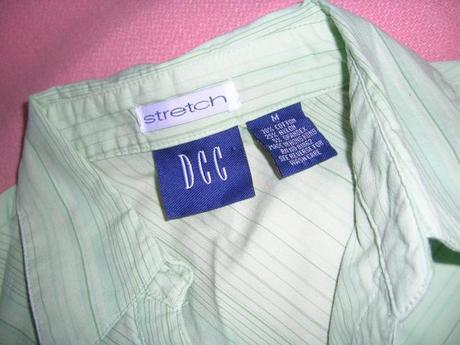 Prúžkovaná elastická DCC stretch, M