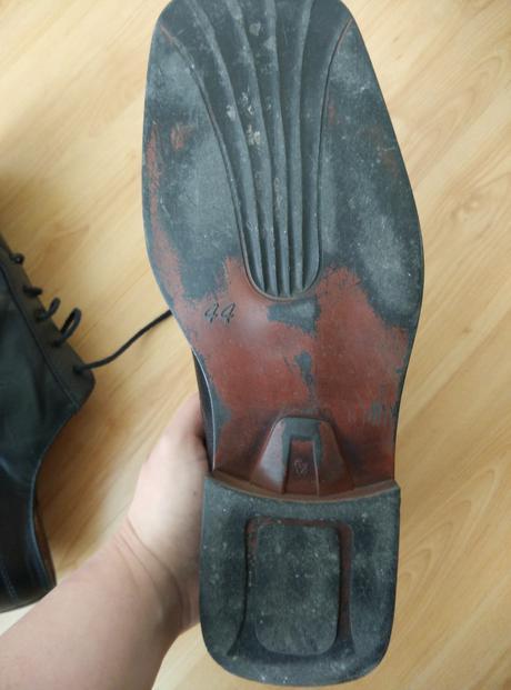 Pánske kožené topánky, 44