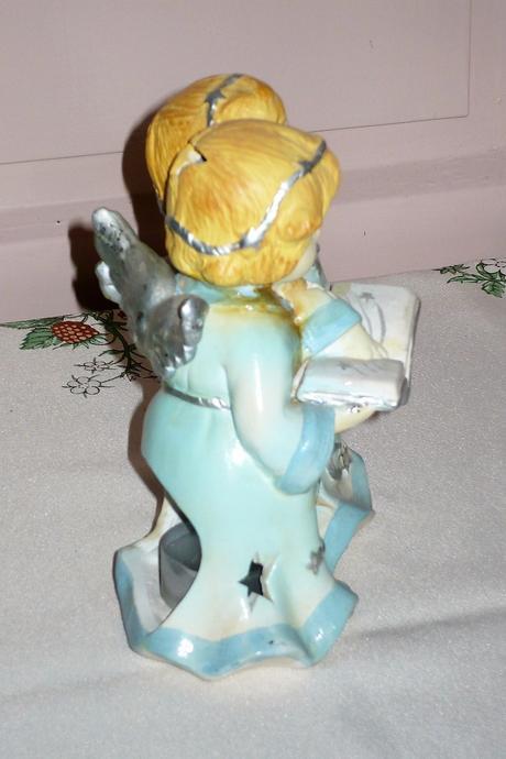 anjelíčkovský svietnik na kahanček,