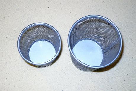 Nepoužívané mriežkové poháriky z Ikea,