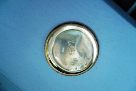 Pánske zlaté švajčiarske náramkové hodinky DOXA ,