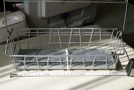 Závesná kovová polička - IKEA,
