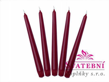 Svíčky dlouhé,