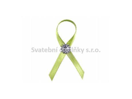 Vývazek brož - barva zelená,