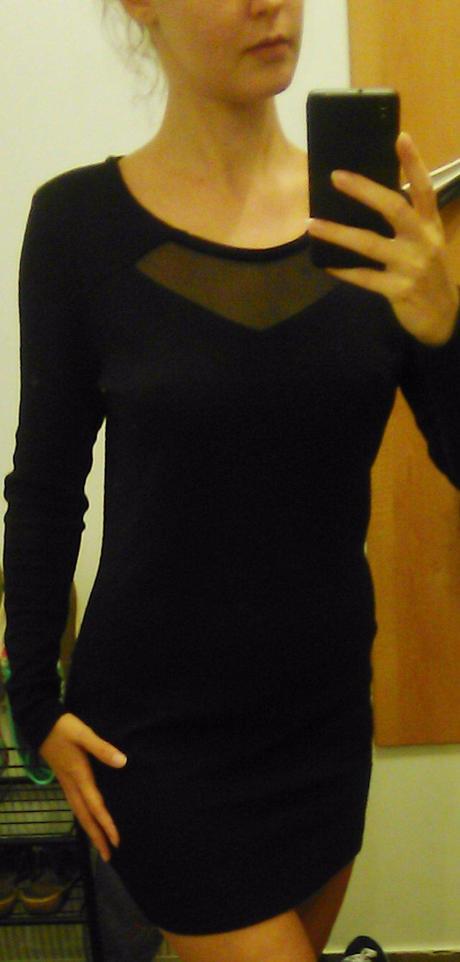 "M-L ""Malé čierne"" šaty, L"