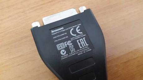 Nepoužitý kábel Lenovo,