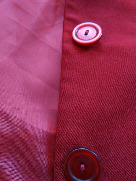 S-M Tmavočervené sako, M