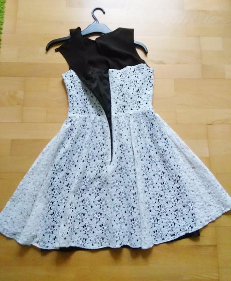 XS-S Krajkové retro šaty, S