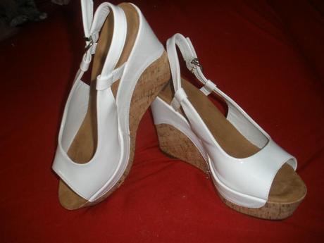 Sandálky na klínu velikost 41, 41