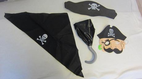 pirátský set,