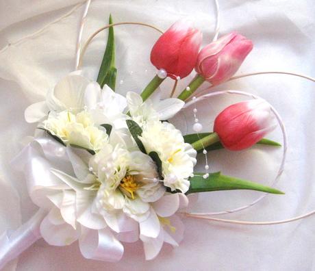 """dekorace na auto """"nejen tulipány"""","""