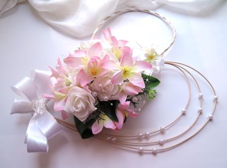 """dekorace na svatební auto """"Romantická"""","""