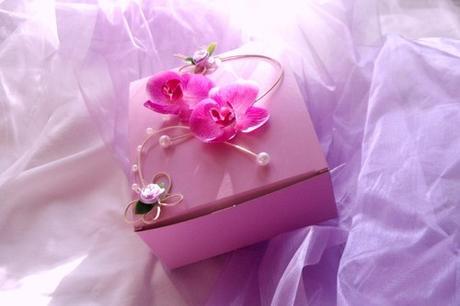 Krabička na výslužku- orchidea tropical,