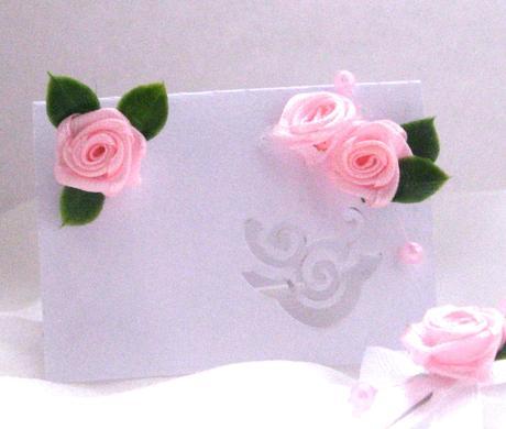 Malá růžovobílá sada,