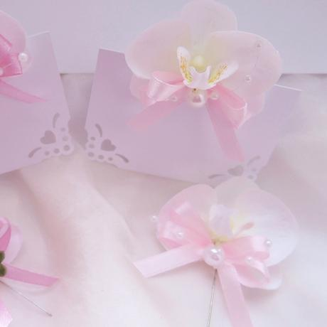 """malá sada """"Bílá orchidej 2"""","""