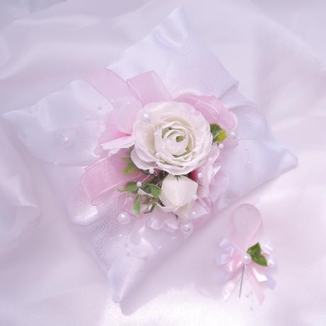 """Malá sada """"Bílá s růžovou"""","""
