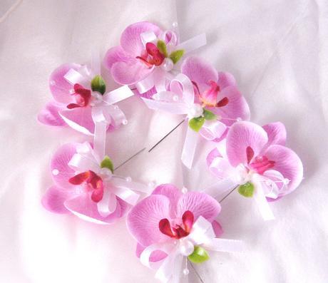 """malá sada """"Růžová orchidej"""","""