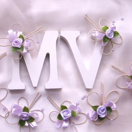 Motýlí sada s písmeny,