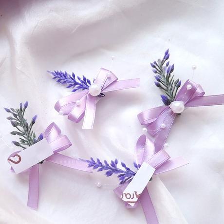 svatební dekorace - nálepka levandulka,