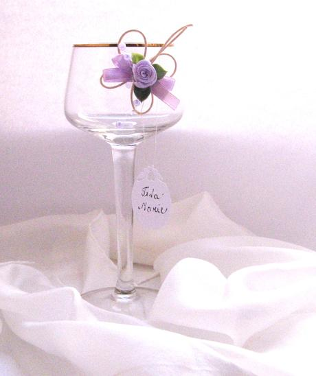 svatební jmenovka - nálepka na skleničku 2,