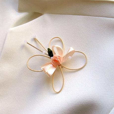 Svatební jmenovky - lososovomeruňková,