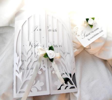 """Svatební oznámení """" brána ke splněným snům"""","""