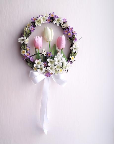 """svatební věneček """"Rozkvetlý"""","""