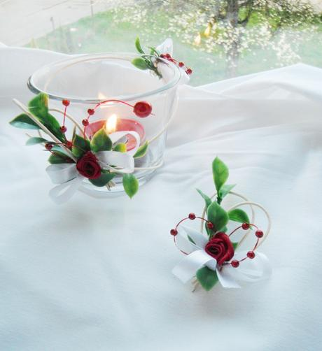 svatební vývazek vínový,