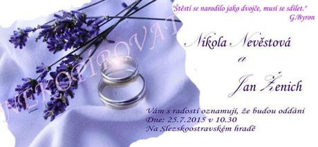 """Velká sada """"Levandulová svatba"""","""
