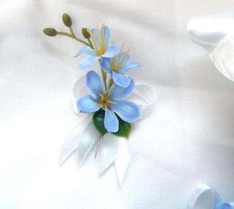 """vývazek pro svědky a rodiče """"Modré z nebe"""","""