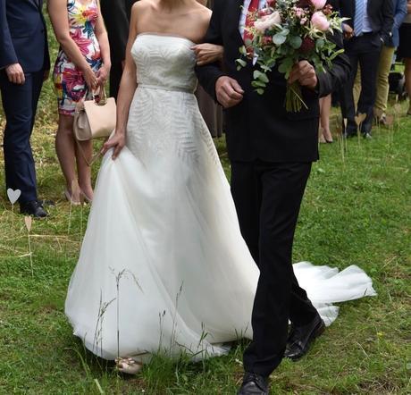 Ivory šaty Vera Wang vel. 36, 36