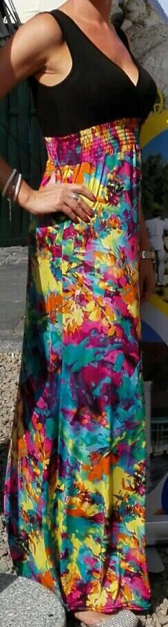 Maxi šaty, 36