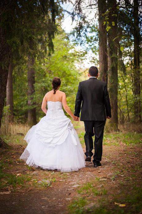 Svatební šaty velikost 36-42, 38