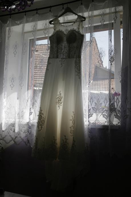 Svatební šaty_velikost 40, 40