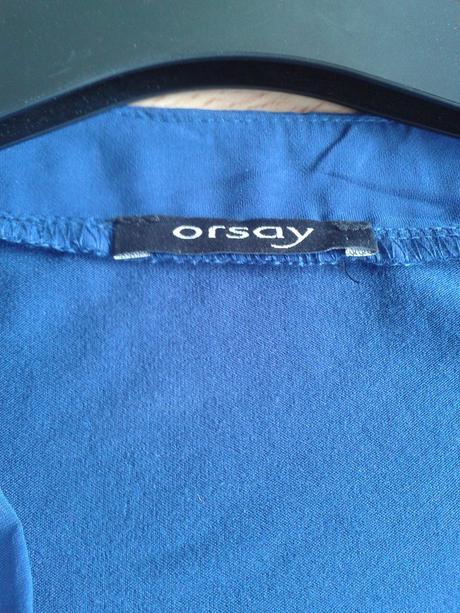 Tričko Orsay s reliéfem kytiček, M