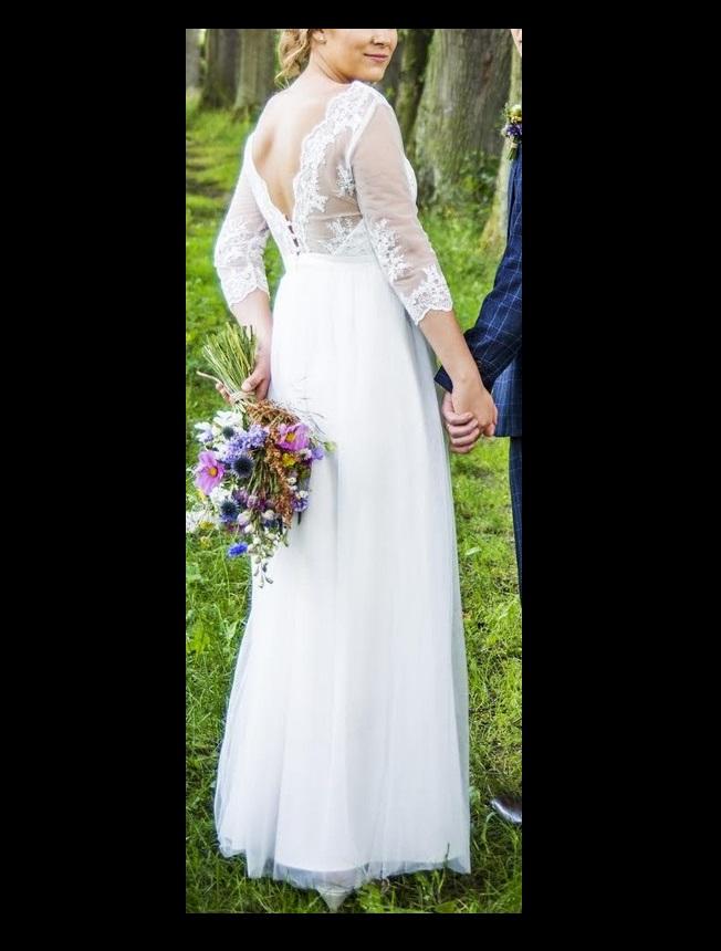 bf85a0627766 Svatební šaty chi chi london (38-40)