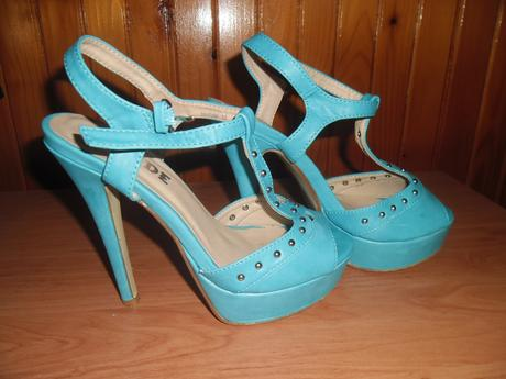 Tyrkysove sandale, 36