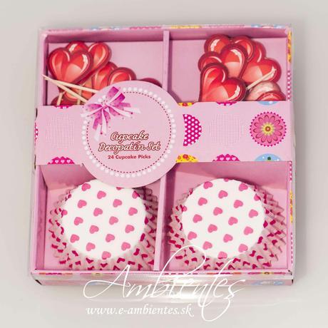 Košíčky na cupcakes a muffiny,