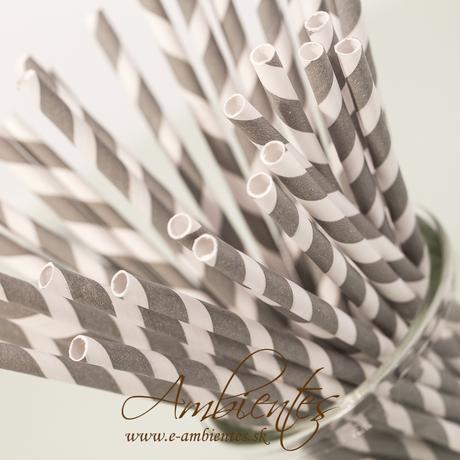 Papierové slamky - rôzne druhy,