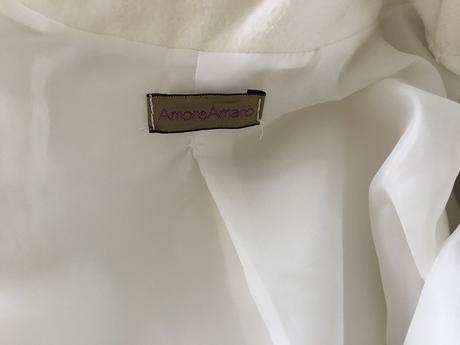 Luxusny svadobny kabat talianskej znacky vel.S ,