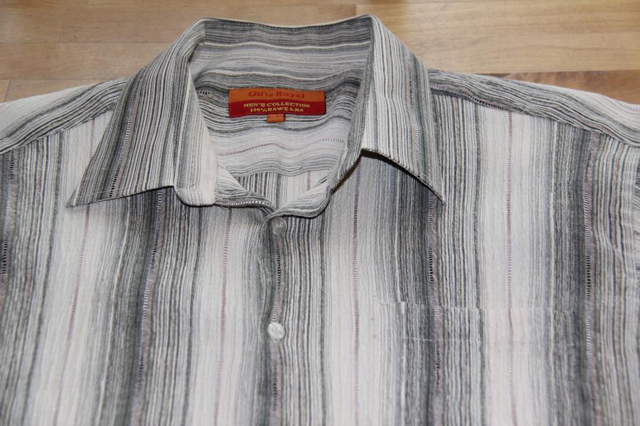Pánská krepová košile s krátkým rukávem f8c8122f1c