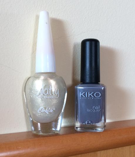 2 laky na nechty - Kiko, Natty,